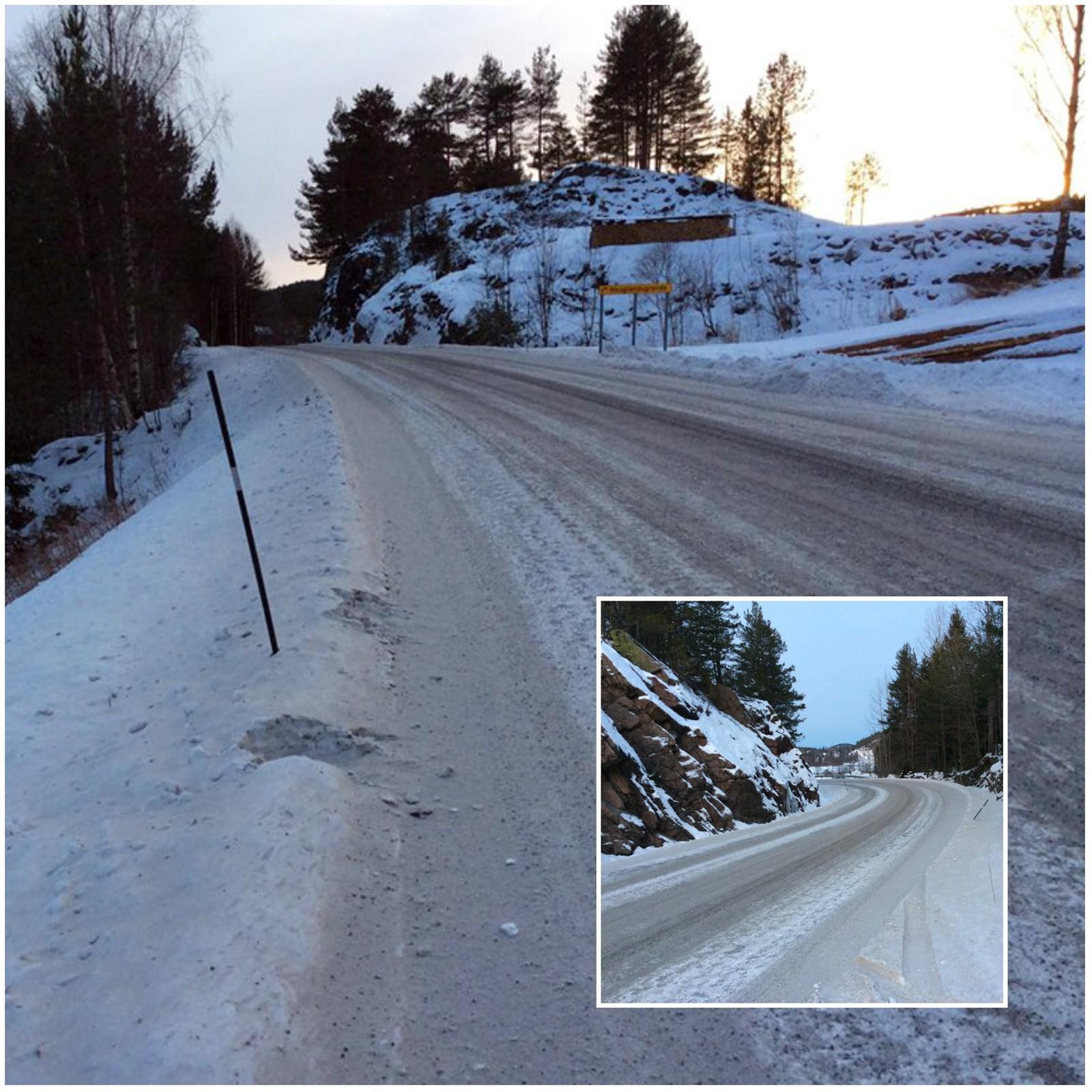 Busstopp i Hauglandsgrenda må bli bedre. Her er det utrygt.