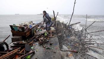 Tyfonen Kuppo på Filippinene