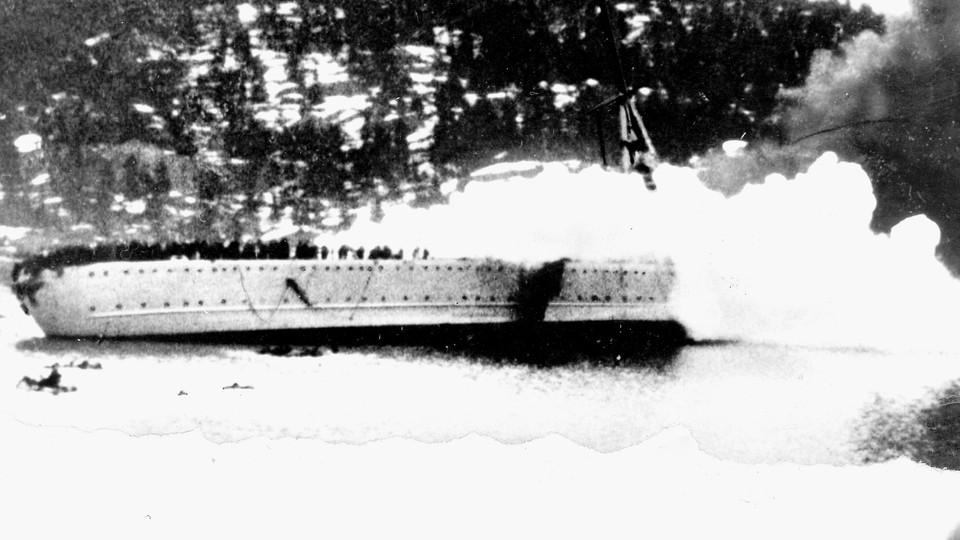 Invasjonen av Norge - Blüchers siste reise