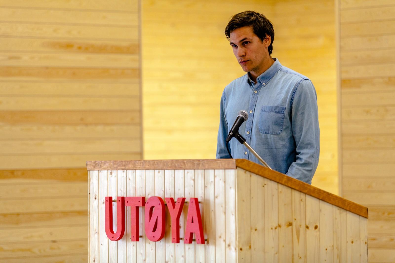 Jørgen Watne Frydnes er prosjektleder for Nye Utøya.