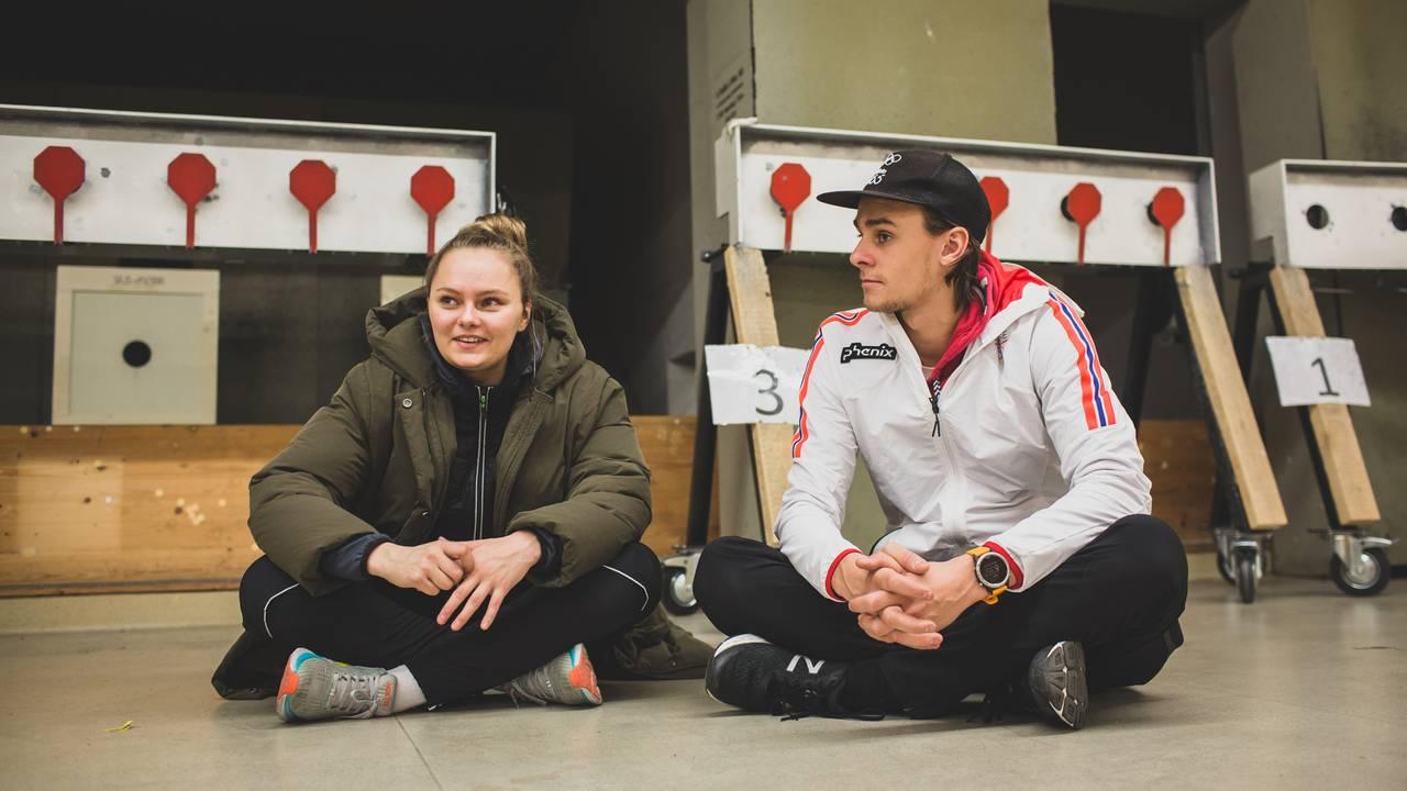 Jenny Stene og Henrik Larsen