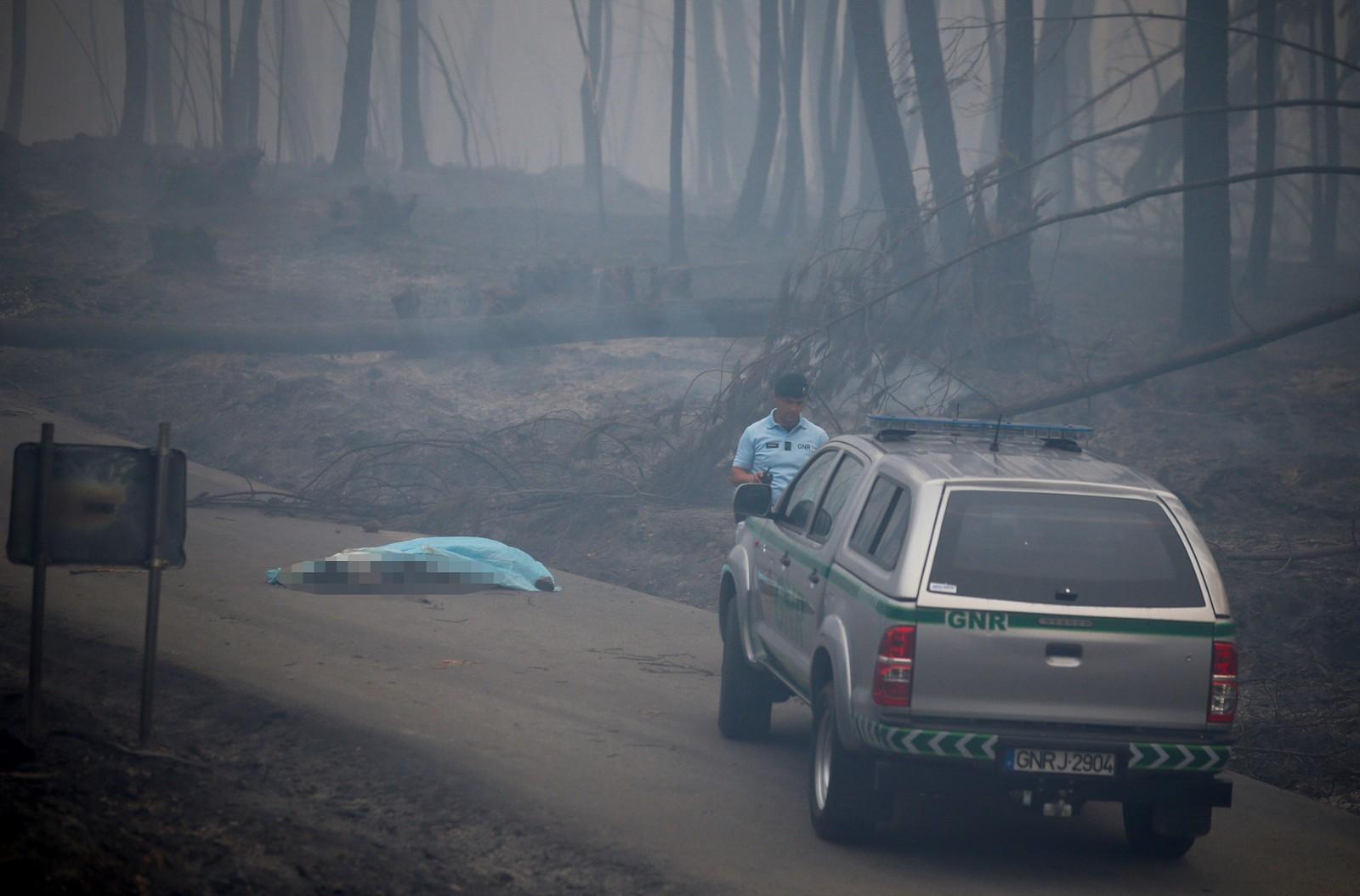 Mange av de omkomne døde mens de forsøkte å flykte fra flammene.