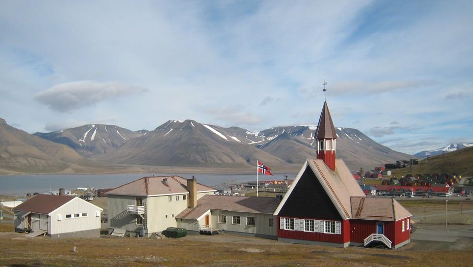 Gudstjeneste fra Svalbard kirke