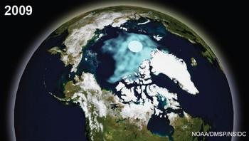 Kilmabilde 2009 fra NOAA