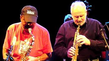 Benny Golson og Jens Søndergaard