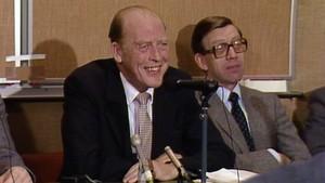 Pressekonferanse med Odvar Nordli (1981)