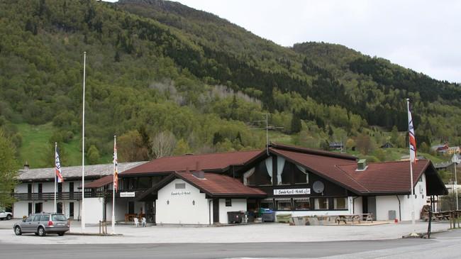 Sande Kro og Hotell. Foto: Ottar Starheim, NRK.