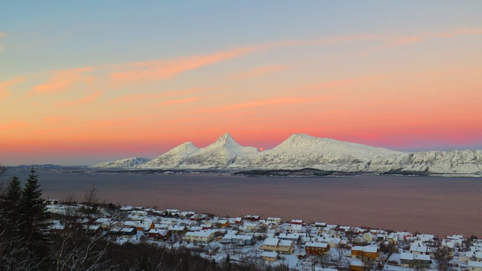 nrk trekant Sandnessjøen