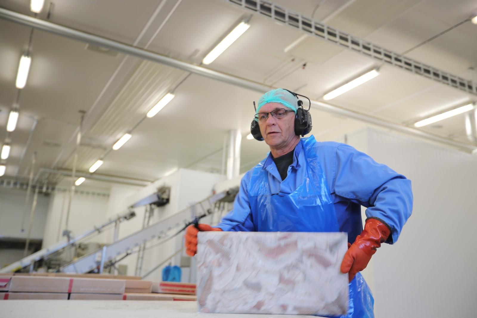 På Melbu er folk bekymra for framtida og for filetfabrikken med rundt 100 ansatte.