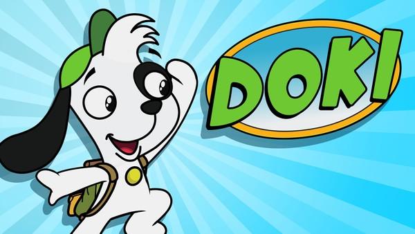 Kanadisk animasjonsserie. Bli med den lille hunden Doki ut på spennende reiser!