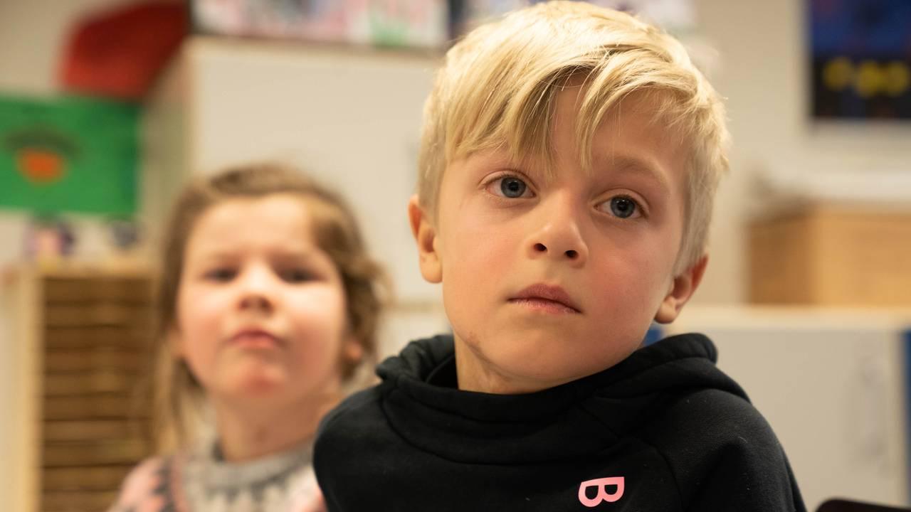 Elever ved Brundalen skole