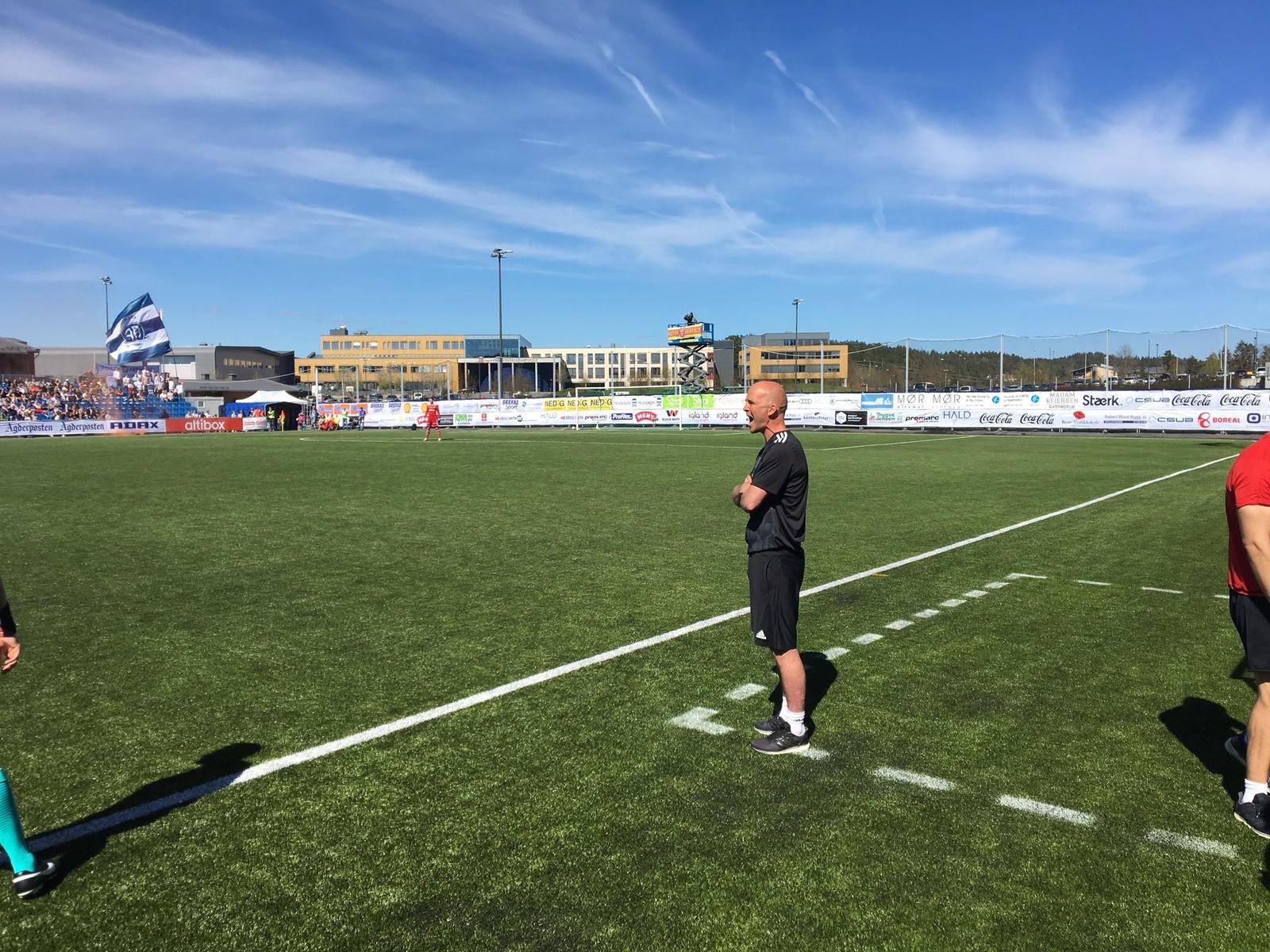Arendal-trener Knut Tørum
