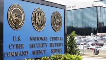 Inngangen til NSA