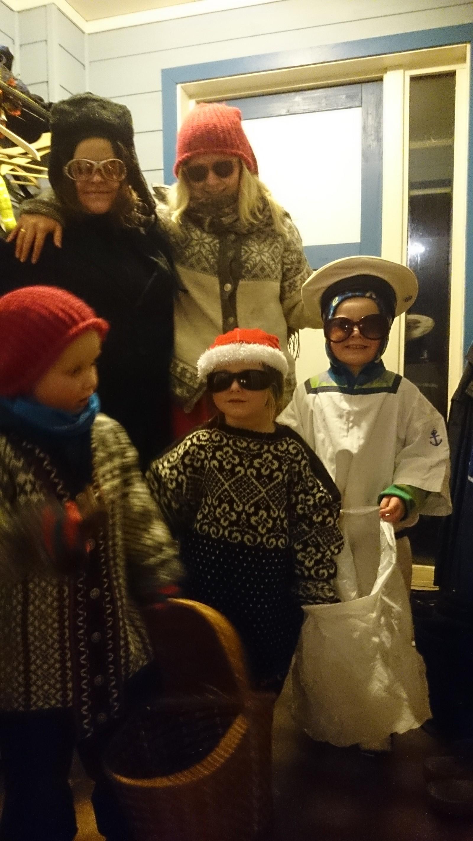Julebukkar i Lodalen