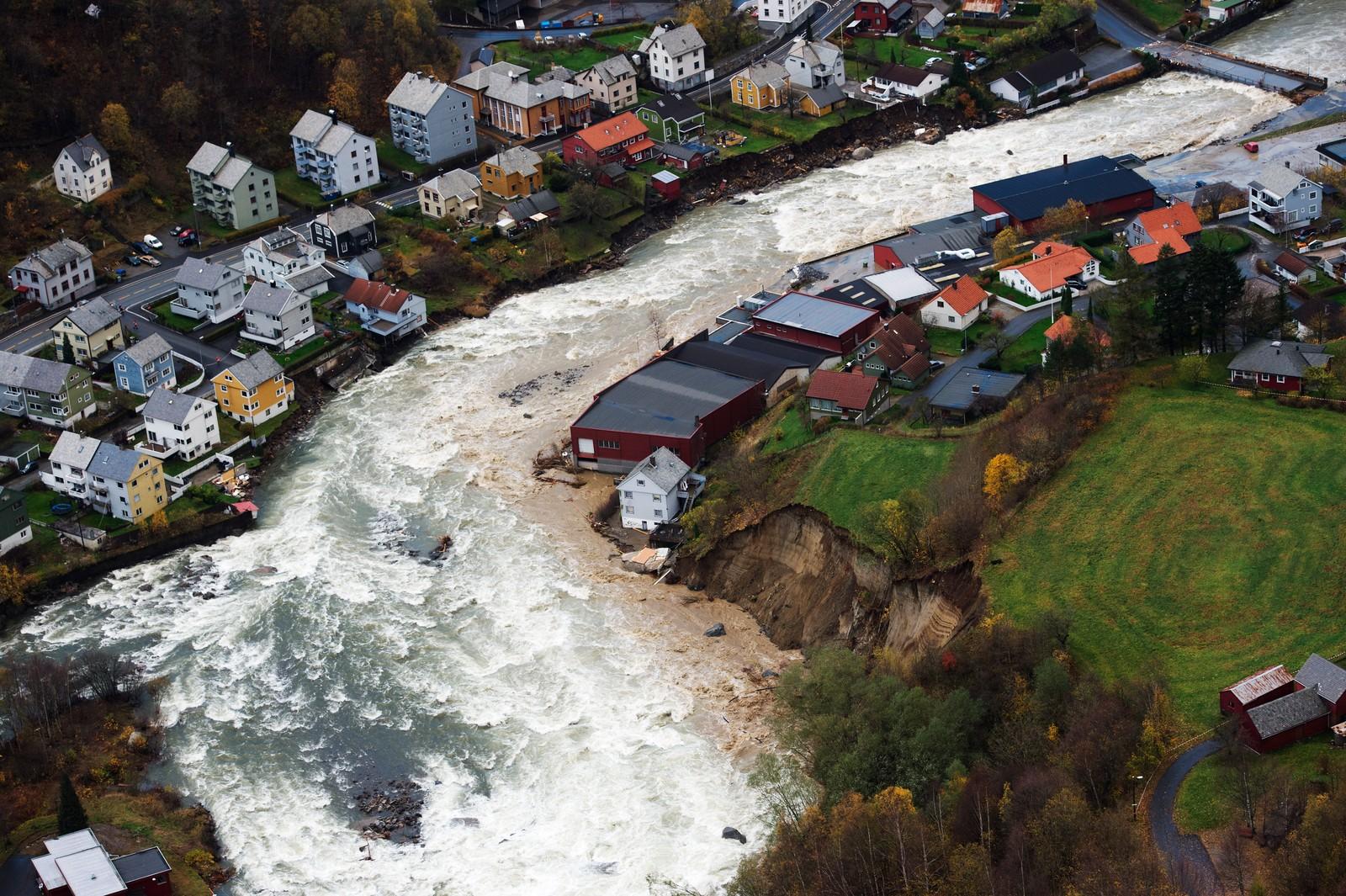 Opo-elva i Odda vart frykteleg stor natt til 29. oktober 2014.