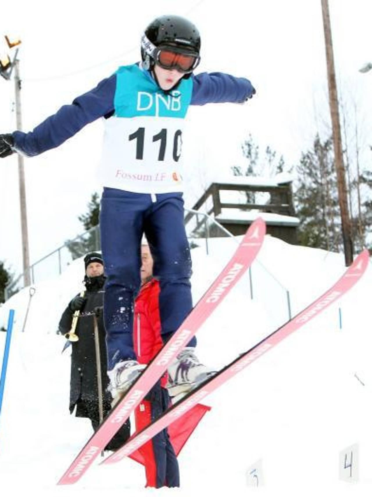 Joakim Visnes, skihopping, 8 år