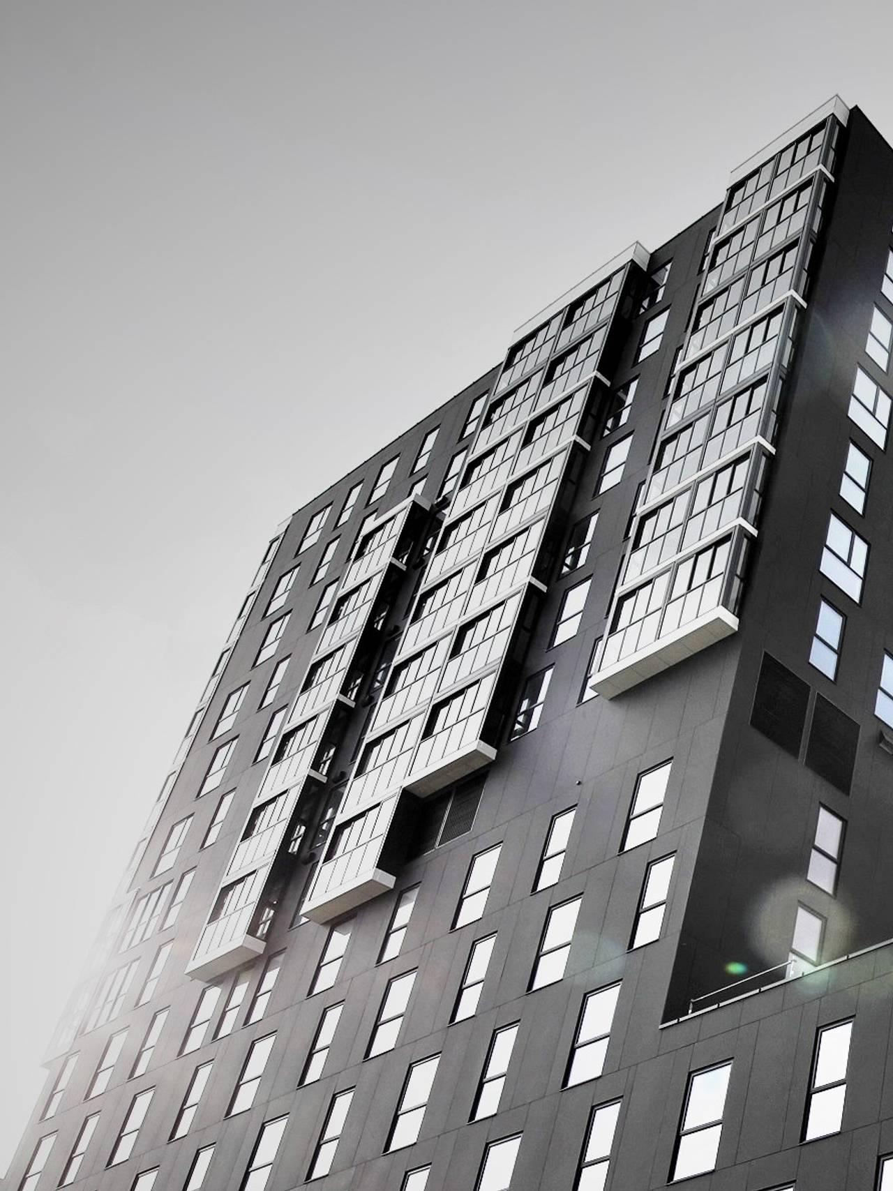 The Storm og Bodø 360, to av Bodøs nyeste bygg.