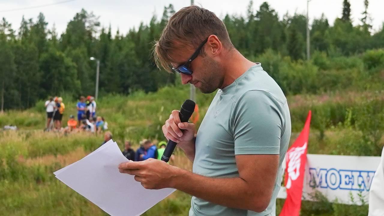 Petter Northug på Trysil sommerskiskole 13. august 2020, samme dag som han blir tatt for råkjøring. Foto: Sigurd Salberg Pedersen