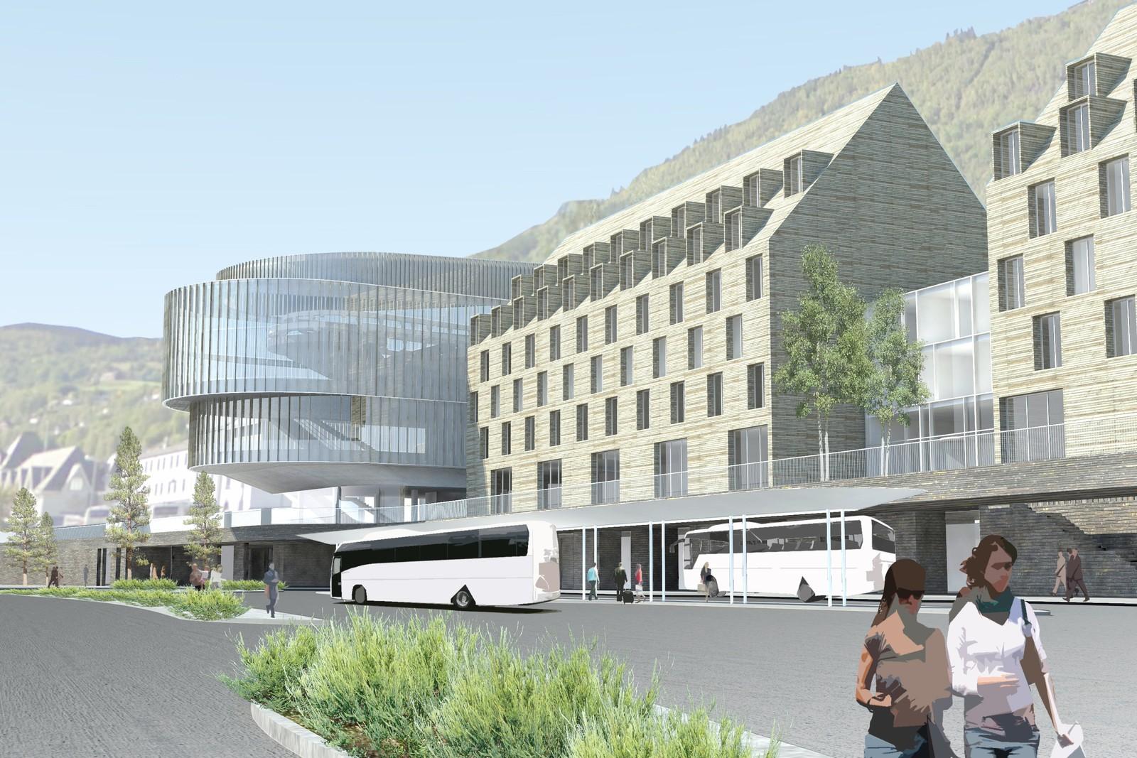 Voss Resort har også planer om å bygge hotell i tilknytning til taubanen.