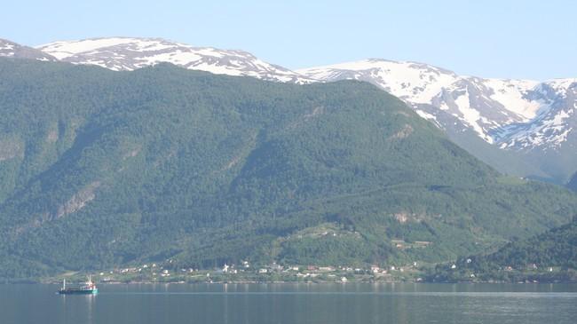 Feios var ein del av Leikanger kommune fram til 1992. Foto: Ottar Starheim, NRK.