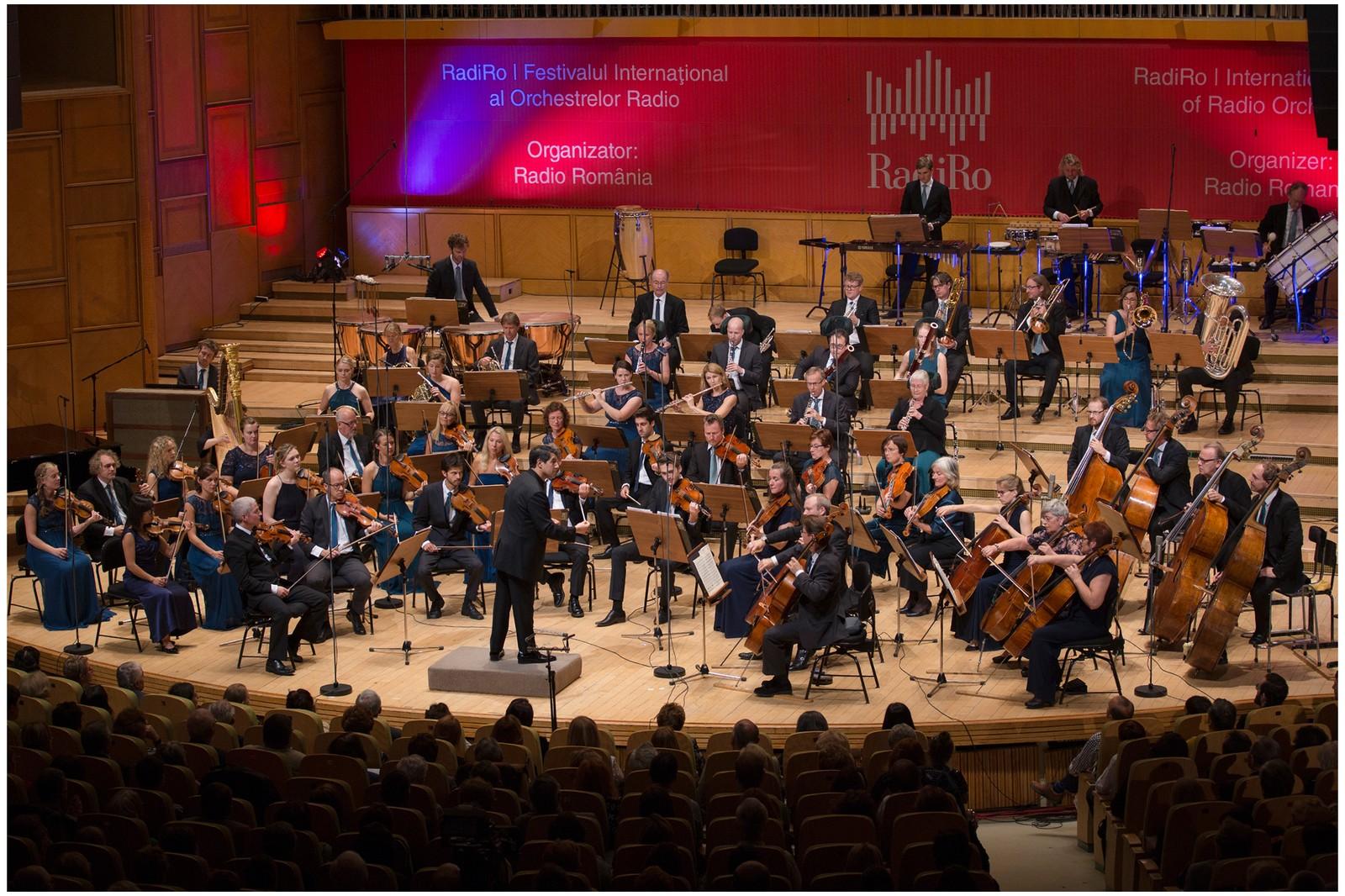 Kringkastingsorkestret på RadiRo i Bucuresti 2016.