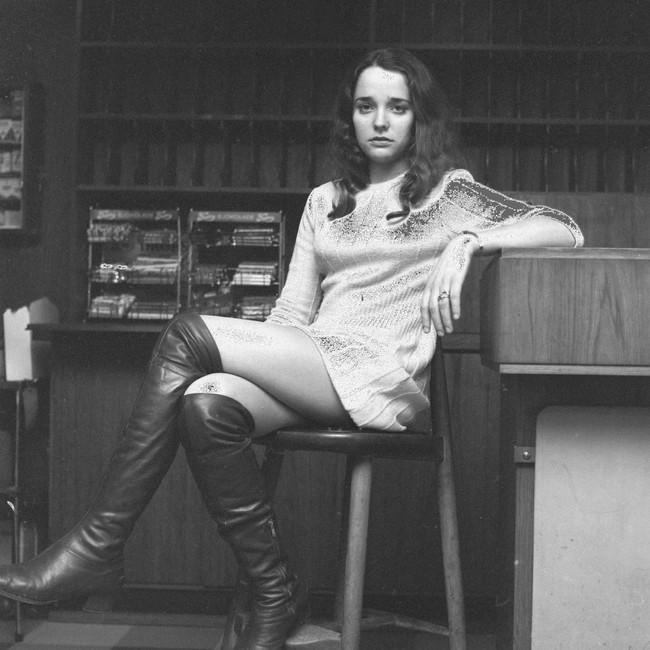 Inger Lise Andersen i 1968 (Rypdal)