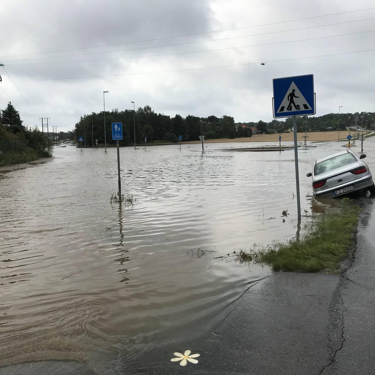 Oversvømmelse i Fredrikstad