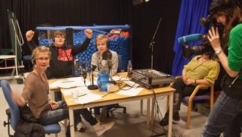 Vinnerlaget fra Guovdageainnu nuoraidskuvla/Kautokeino ungdomsskole har fått beskjeden