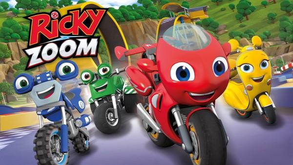 Britisk animasjon om Ricky og sykkelvennane hans som stadig er på jakt etter nye stunt å lære seg.