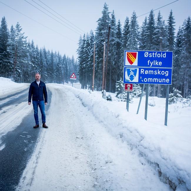 Thor Håkon Ramberg, ordfører i Rømskog i Østfold