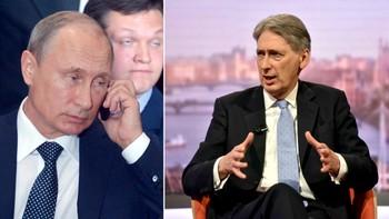 Putin og Hammond