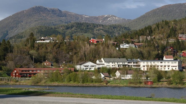 Naustdal sjukeheim. Foto: Ottar Starheim, NRK.