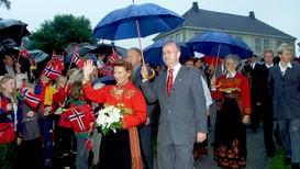 Dronning Sonja på besøk i Skien - Foto: Terje Bendiksby/NTB scanpix