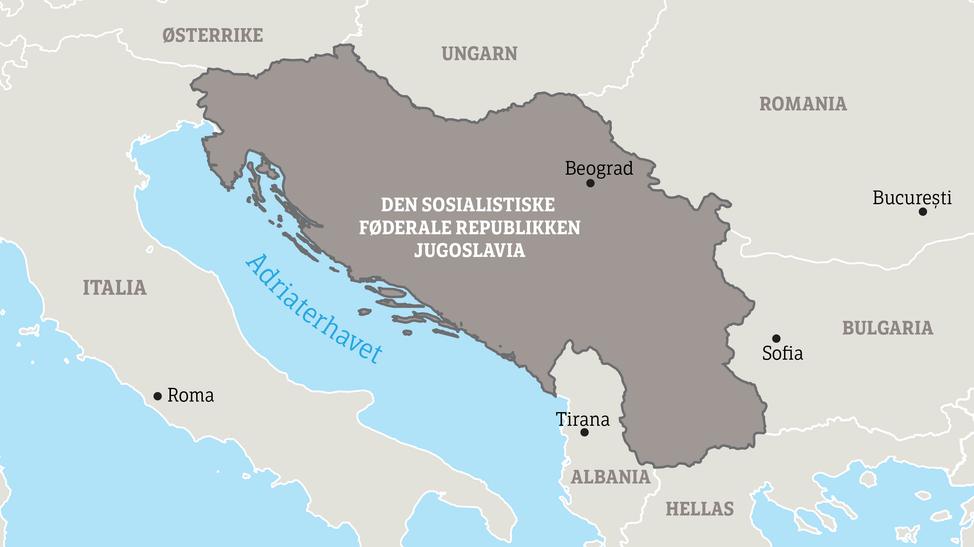kart jugoslavia Se krigs  og fredsbildene fra Balkan – NRK Urix – Utenriksnyheter  kart jugoslavia