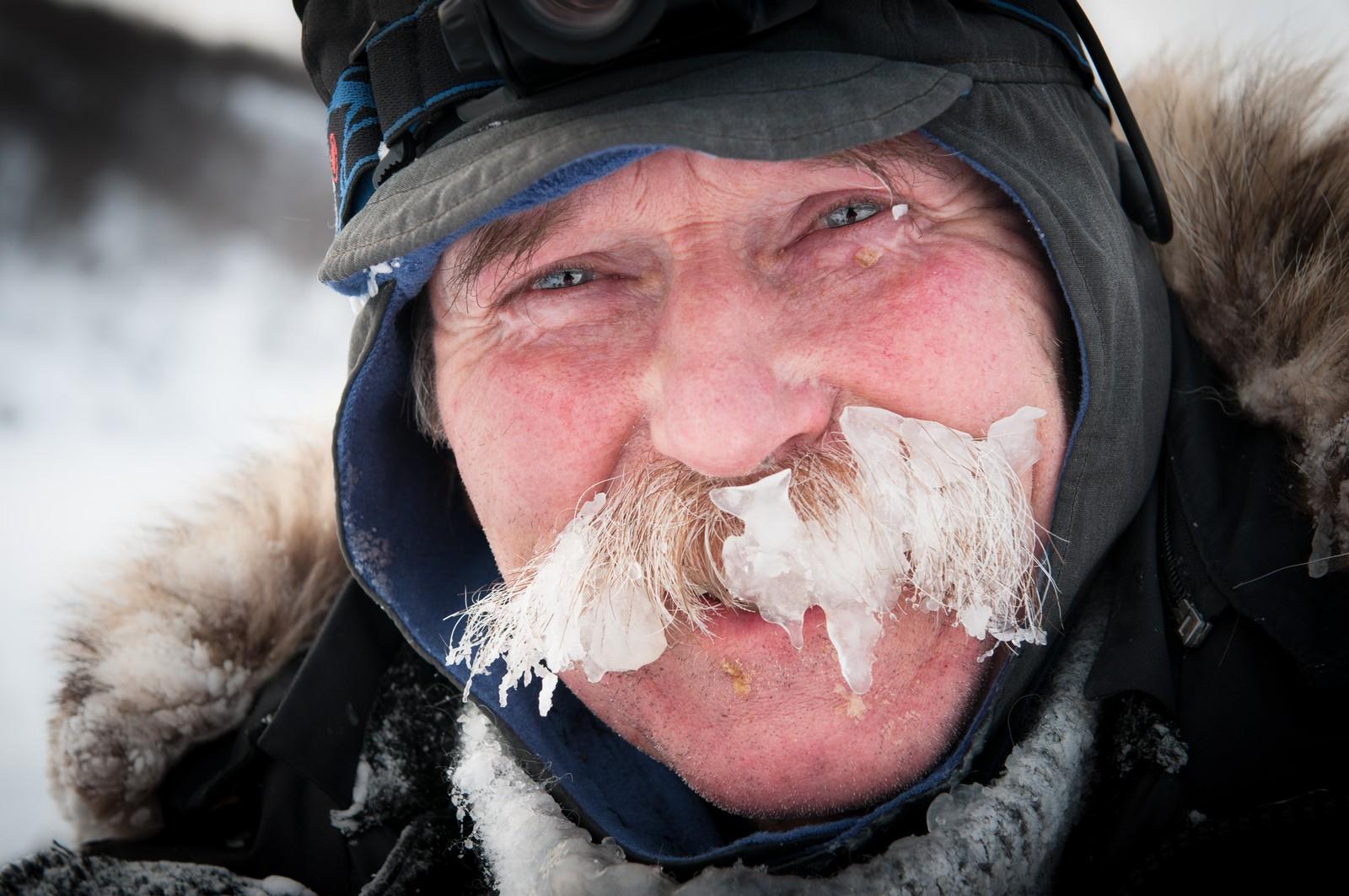 Åsmund Snortheim burde hatt premie for beste isbart.