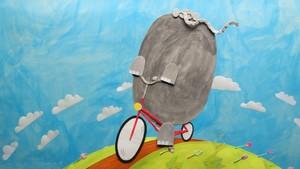 Elefanten og sykkelen
