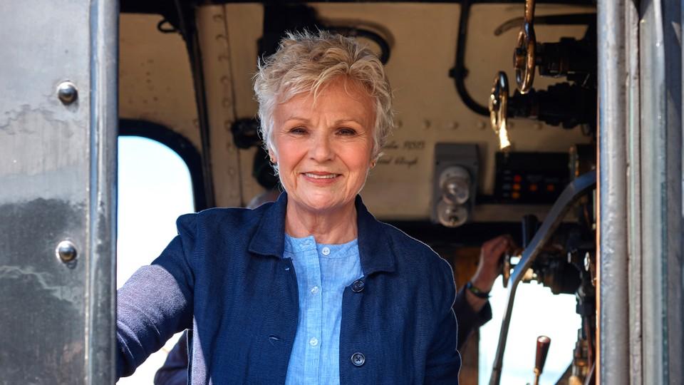 På togtur med Julie Walters