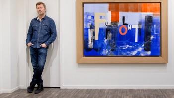 Magne Furuholmen blir ny styreleder for Festspillene i Bergen. Her er han fotografert ved utstilling