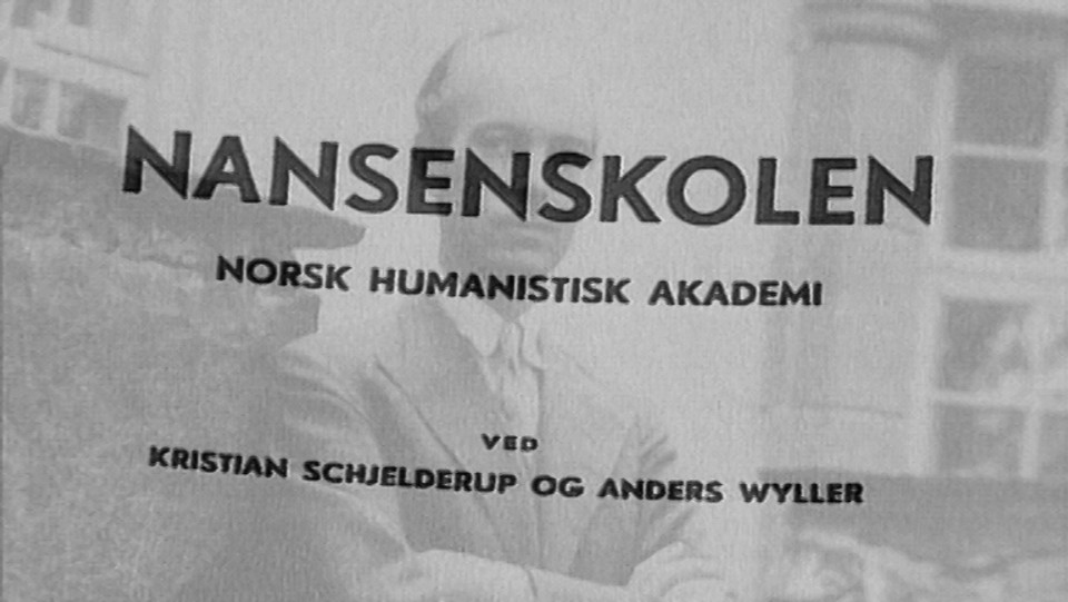 Nansenskolen - et verksted for tanken