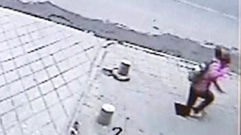 Video Falt seks meter ned i bakken