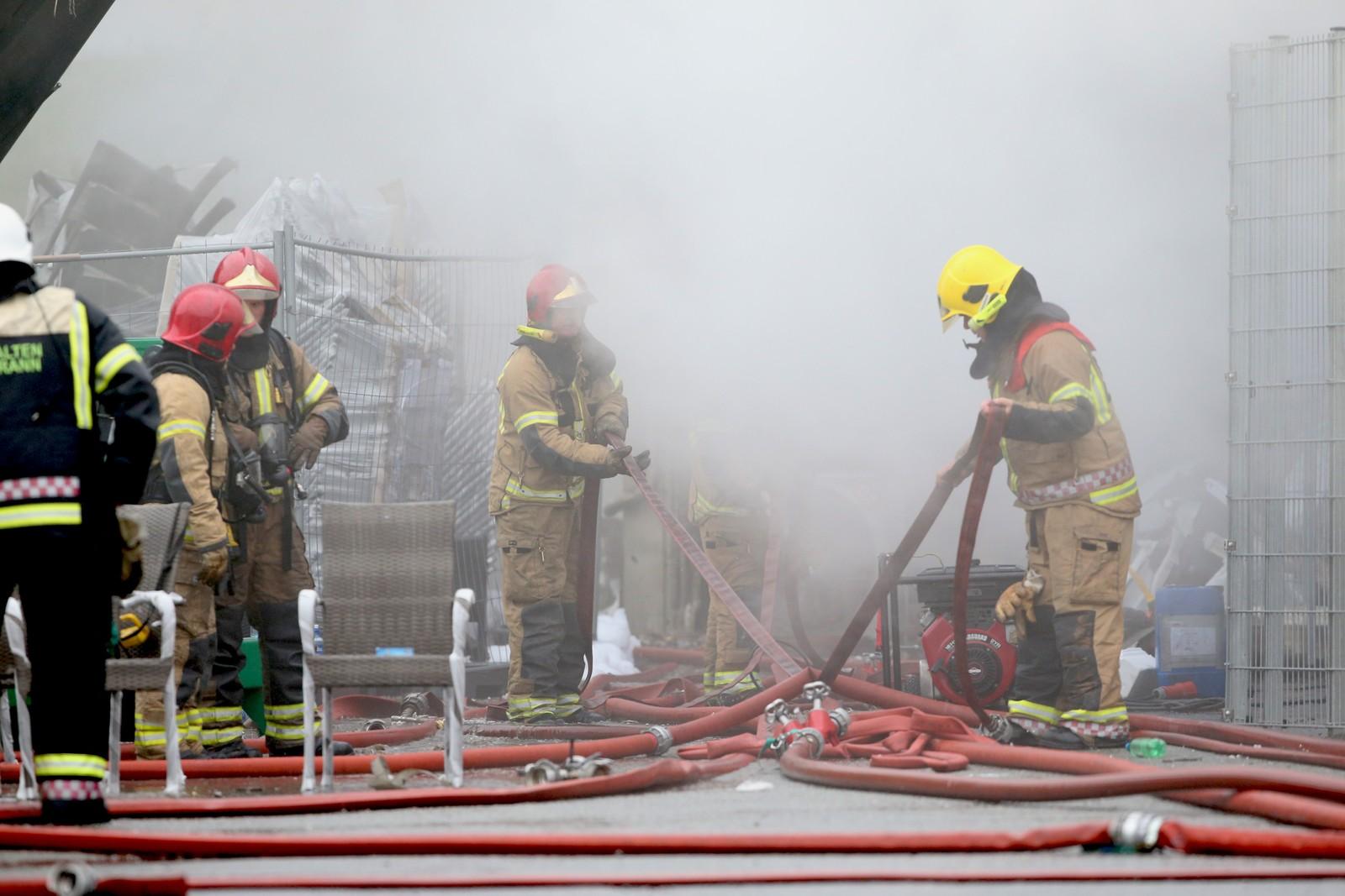 Mellom 10 og 20 personer ble onsdag kveld og natt til torsdag evakuert.