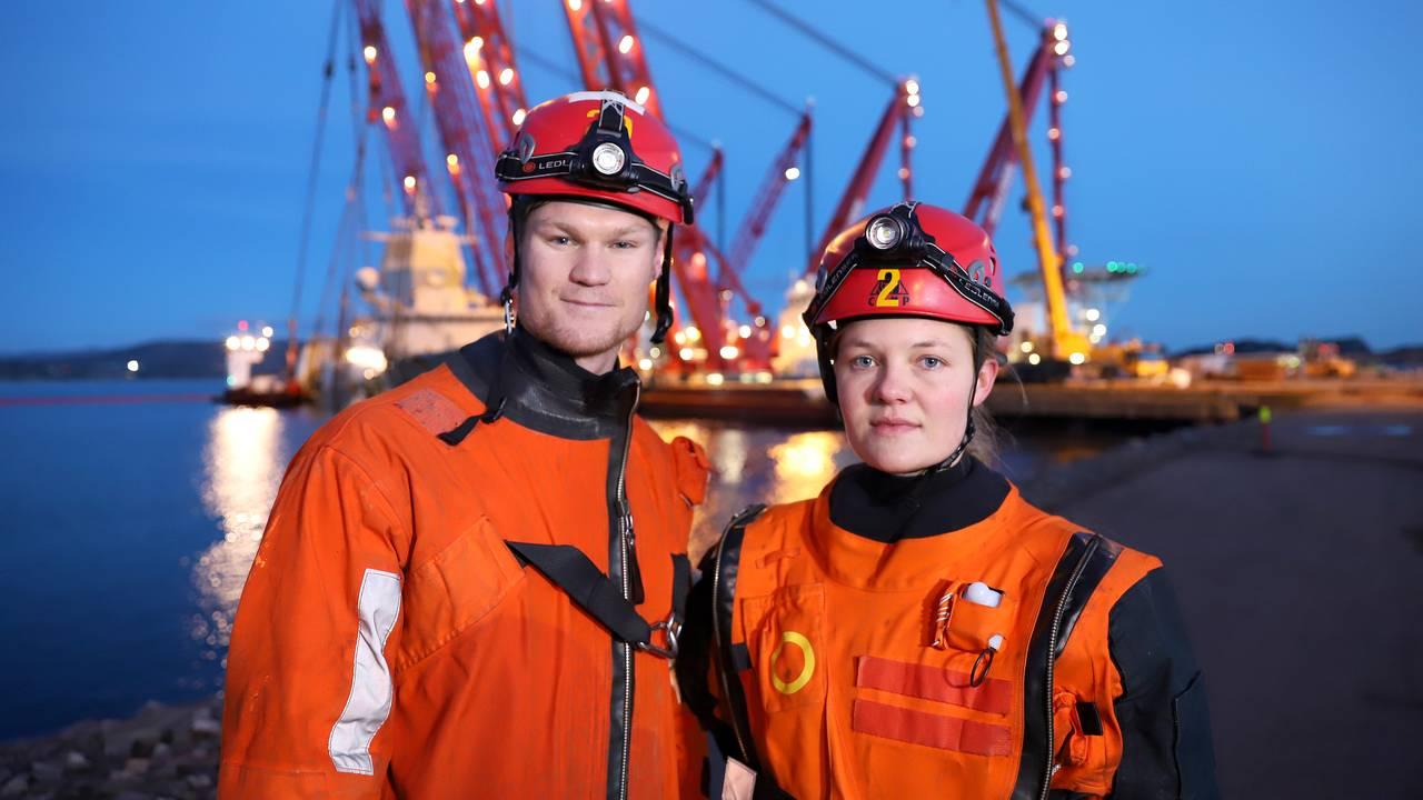 Jostein Kjernaas og Anita Eide
