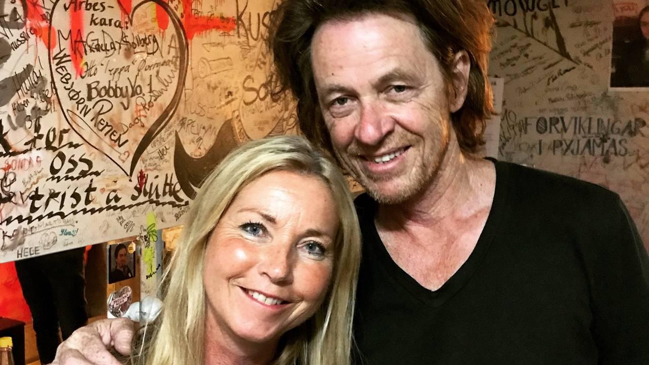 Anja Katrine Tomter sammen med Dominic Miller på AnJazz