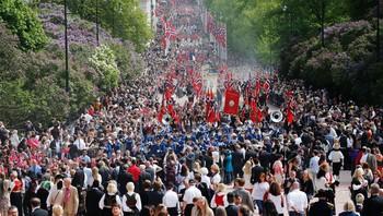 Barnetoget i Oslo 17. mai 2014