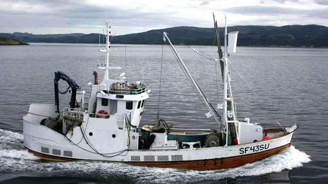 Kystnotbåten Sjonglør av Solund. © Nord Solund Fiskeriselskap AS.