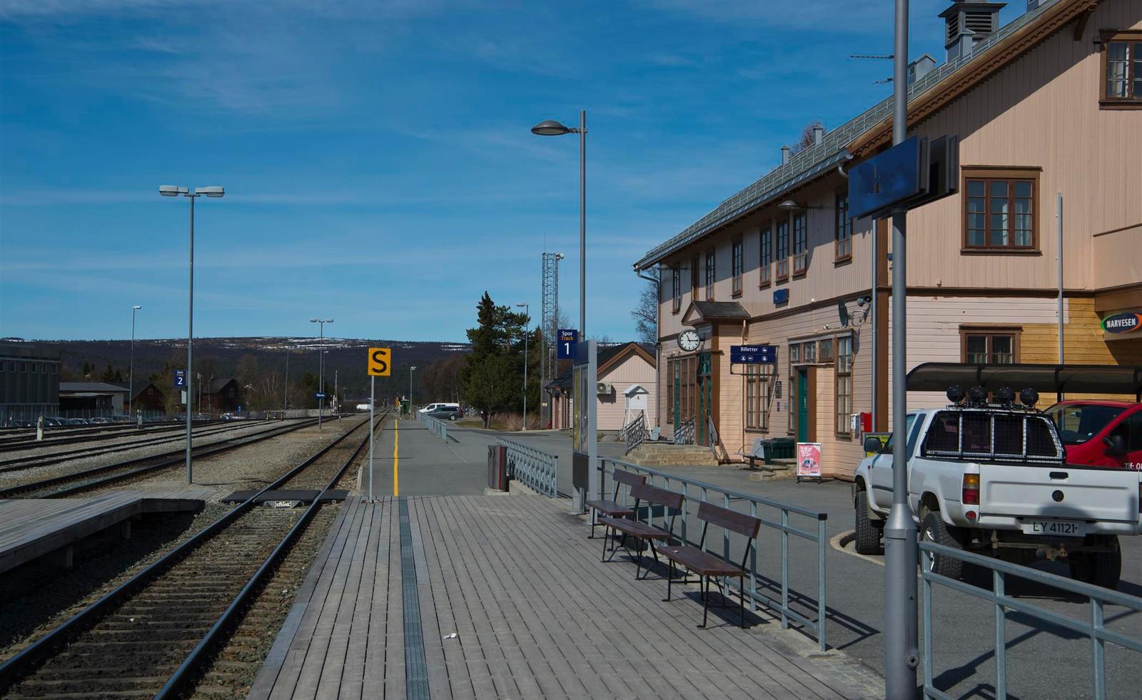 27.05 Røros stasjon