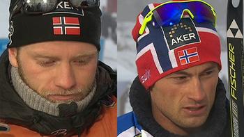 Martin Johnsrud Sundby var meget irritert etter at Petter Northug hang bakerst i gruppen gjennom hele 30 km under NM på Vang lørdag.
