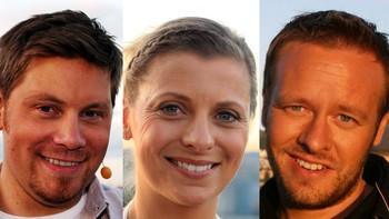 Sverre Sætre, Lise Finckenhagen og Christopher Sjuve