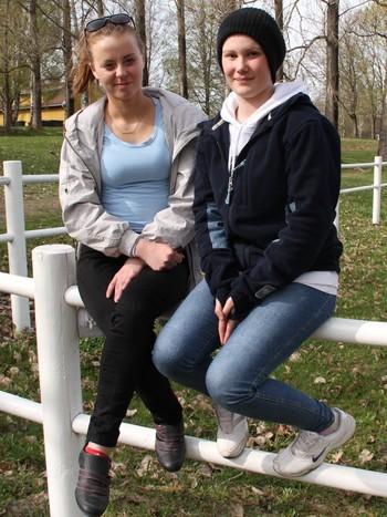 Benedicte Nilsen og Saija Skoglund
