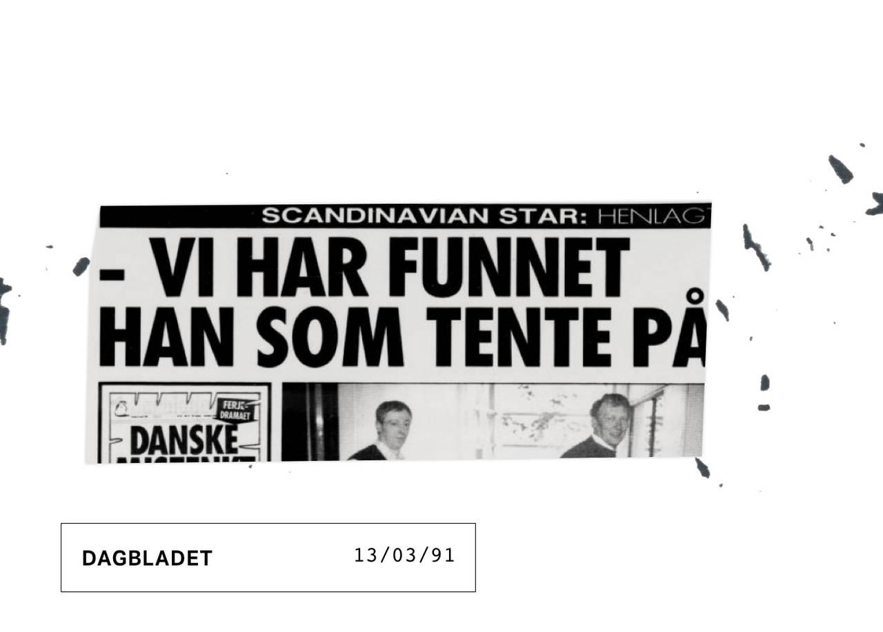 Faksimile Dagbladet 130391: